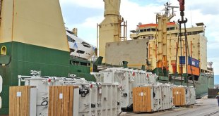 Rickmers-Linie loads record number of transformers in Rijeka