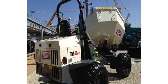 Terex Construction introduces new site dumper technology