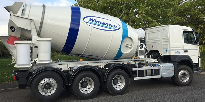 Wincanton new ready mixed concrete eight-year contract