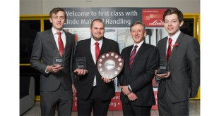 Award success for Linde UK engineering apprentices