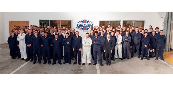 Cartwright calls for apprentices to join award winning programme