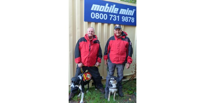 Mobile Mini Gravesend team helps Search Dogs Sussex sniff out storage solution