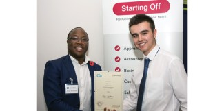 Stertil rewards successful apprentice with permanent position