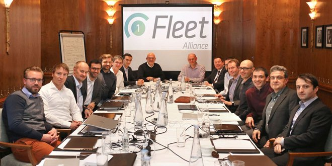 1-Fleet Alliance holds landmark meeting in London to forge closer pan-European telematics collaboration