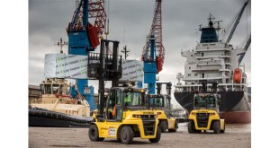 Hyundai Forklifts first port of call for Global Shipping Services