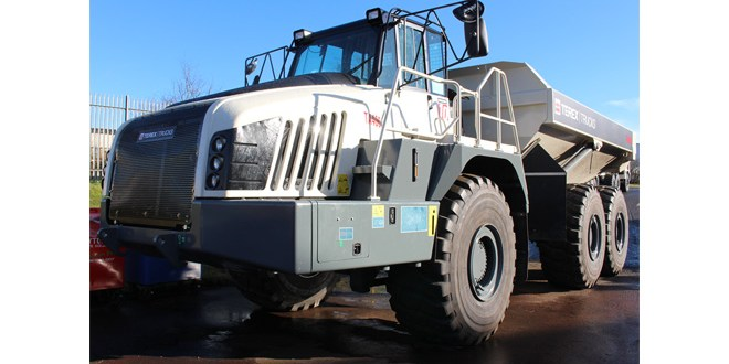 OPS to distribute Terex Trucks articulated haulers in Australia