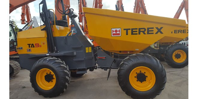 Terex Distributor Announces Site Dumper Contract Win