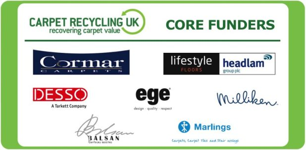 CRUK's core funders are Cormar Carpets, Lifestyle Floors/Headlam, Desso, ege, Milliken, Balsan and Marlings