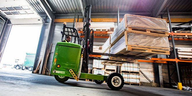 Hiab to supply 15 electric MOFFETT truck mounted forklifts to Behrens-Wöhlk-Gruppe in Germany