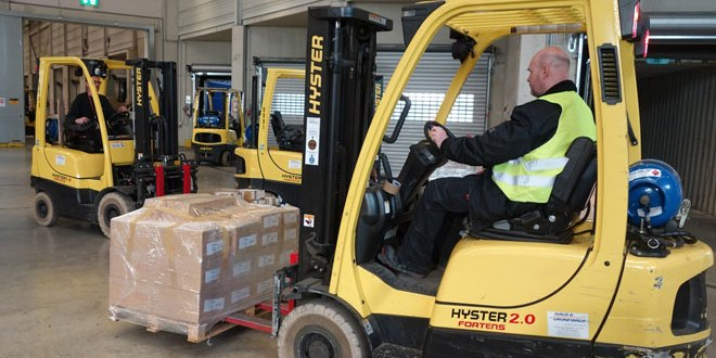 Hyster forklifts overcome challenges at automotive logistics operation