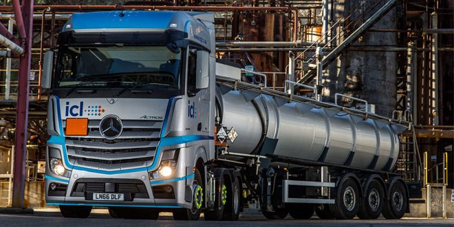 ICL leads on safety with new Mercedes-Benz Actros fleet