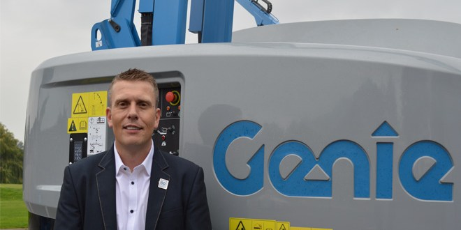 Lee Edwards promoted to Genie Regional Sales and Dealer Manager for UK and Ireland