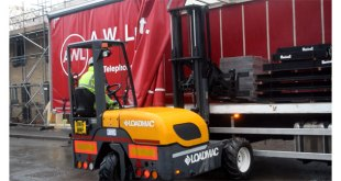 AW Lumb choose Loadmac for two new truck mounted forklifts