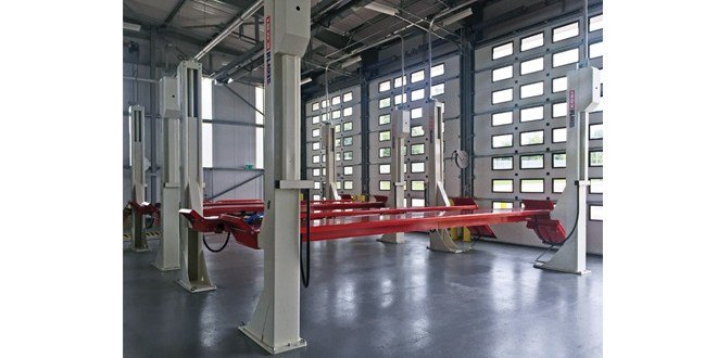 DPD relies on Stertil Koni lifts to support 100M GBP superhub