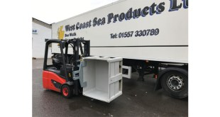 New Box Handler from B&B Attachments for West Coast Sea Products