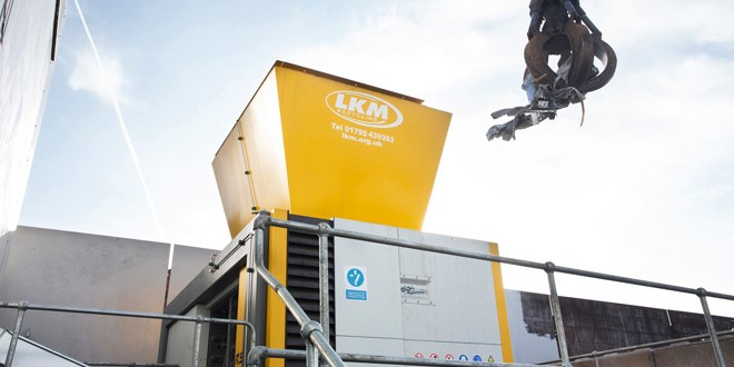 UNTHA largest four shaft shredder heads to LKM Recycling