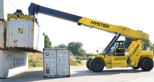 VGM weighing systems for Hyster ® ReachStackers
