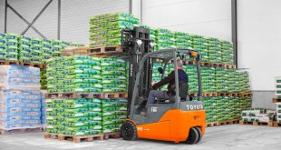 Energy efficient Toyota Material Handling Traigo 48 wins FLTA category award