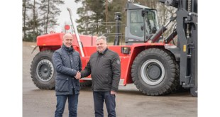 Kalmar delivers two super-heavy forklift trucks to Finnish steel mill
