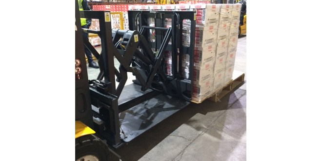 Loading and unloading made faster with Push Pull from B&B Attachments