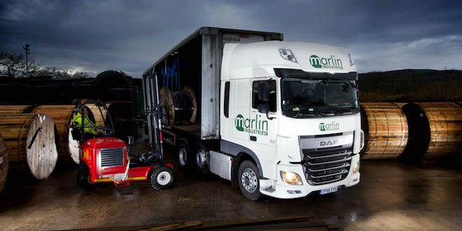 Marlin Industries switches to top-spec DAF XF fleet