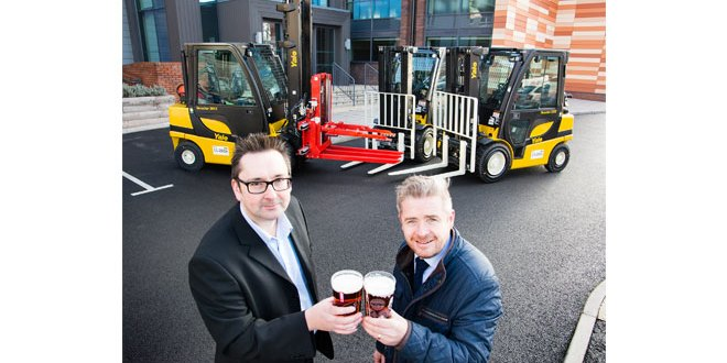 Marston's updates fleet with £700,000 Yale deal with Briggs Equipment