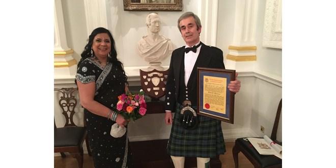 Forth Ports David Thomson receives prestigious award for innovative haulier booking system