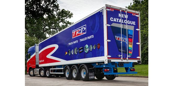 DAF Trucks TRP trailer to greet visitors at CV Show 2017