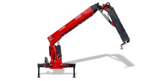 The new Fassi F600SE crane