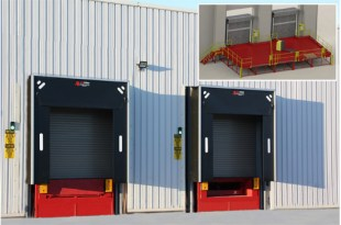 Thorworld steel loading bay solution is perfect match for sportwear brands UK warehouse