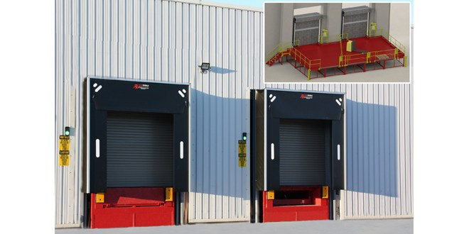 Thorworld steel loading bay solution is perfect match for sportwear brand's UK warehouse
