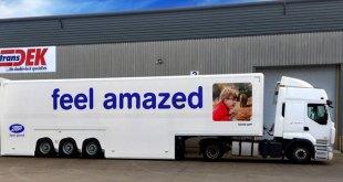 Transdek introduces XL double deck trailer at CV Show