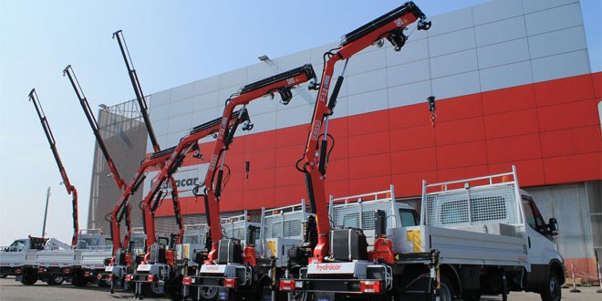 7 Fassi cranes for the Milanese Water Supply Network