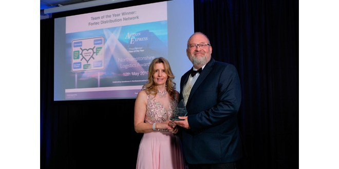 Fortec Distribution Network delivers the goods in Northamptonshire Logistics Awards