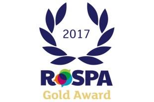 Howard Tenens wins Gold RoSPA Award