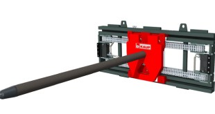 KAUP Carrying Ram attachment helps improve paper reel handling