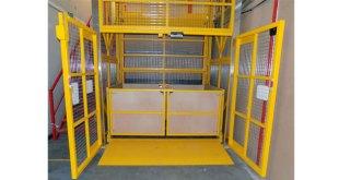 Transdek supplies latest mezzanine lift to Bettys & Taylors