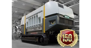 UNTHA XR waste shredder hits one million operational hours