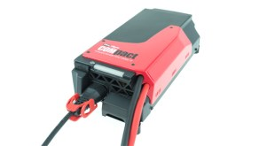 New COMpact chargers from EnerSys enable lift trucks to recharge anywhere any time