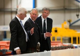 Gray & Adams Royal visit Prince Charles and joint mds