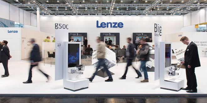 Lenze presents the best recipes for the processing and packaging industry at PPMA