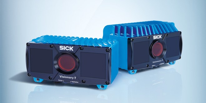 SICK visionary camera takes 3D images in a snapshot