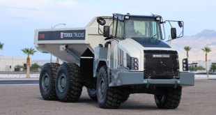 Terex Trucks Gen10 TA300 articulated hauler will be on display at Steinexpo