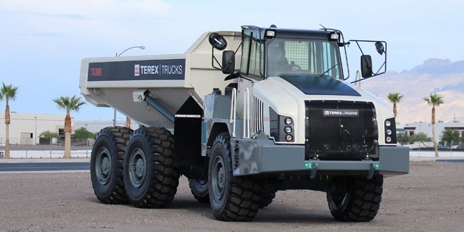 Terex Trucks Gen10 TA300 articulated hauler will be on display at Steinexpo (30 August – 2 September).