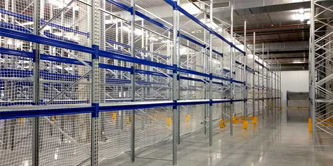 AR Racking installs storage system for the biotech company Biokit