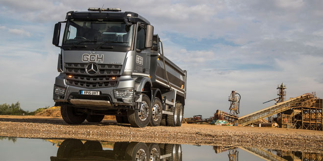 GCH saves GBP 100 a week on fuel after switching to Approved Used Mercedes Benz Arocs