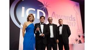 CHEP hounoured with IGD john Sainsbury Award