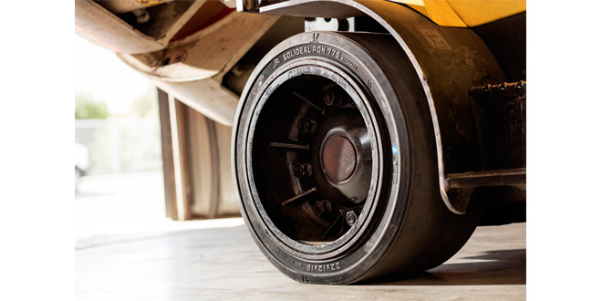 Camso, formerly Camoplast Solideal introduces three new press on PON tire models to meet the growing demands