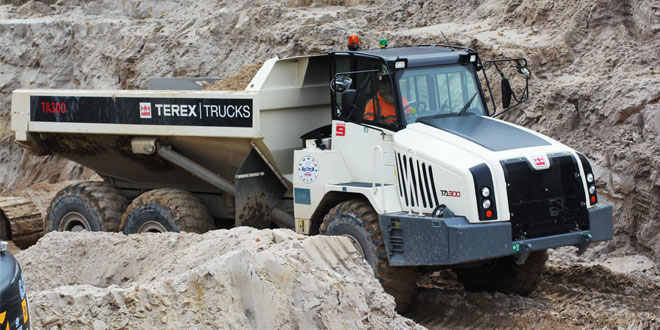 G Crook & Sons, a family run business is putting a fleet of Terex Trucks 28 ton