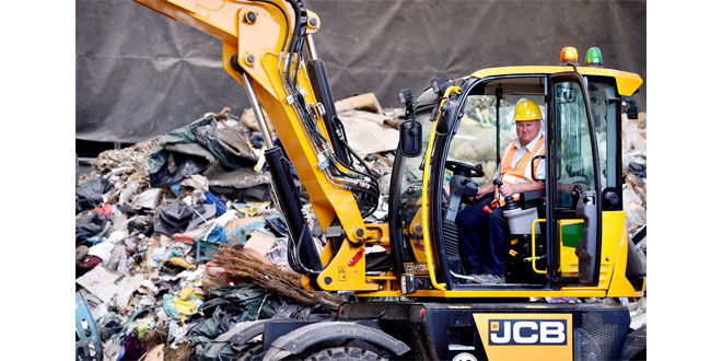 JCB Hydradig versatility fits the bill at Hadley Recycling and Waste Management